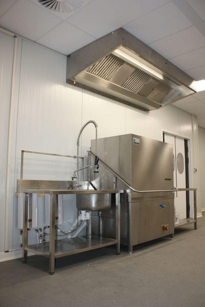 Friedrichshafen productiekeuken binnenkant
